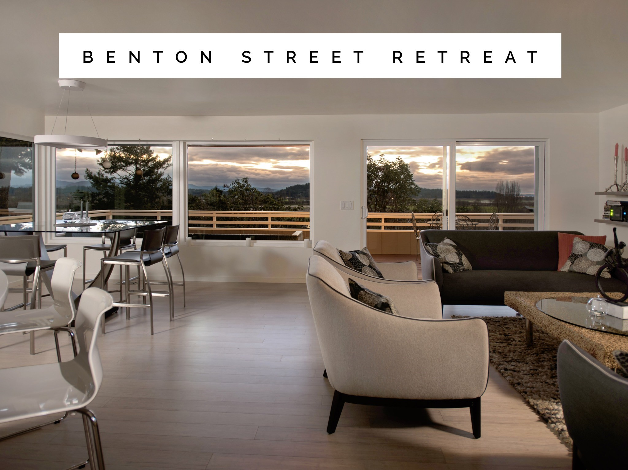 Benton Street Retreat Website